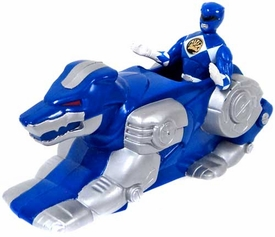 Mighty Morphin Power Rangers Movie LOOSE McDonald's Happy Meal Blue Ranger with Wolf Ninjazord