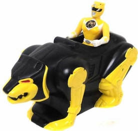 Mighty Morphin Power Rangers Movie LOOSE McDonald's Happy Meal Yellow Ranger with Bear Ninjazord
