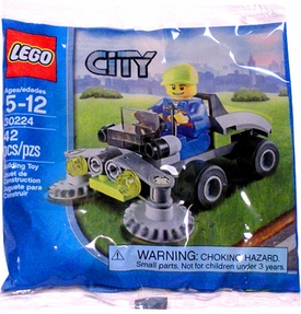 LEGO City Set #30224 Rider on Lawn Mower [Bagged]