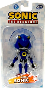 Sonic the Hedgehog 3.5 Inch Action Figure Metal Sonic