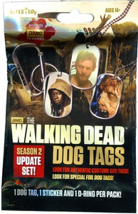 Walking Dead Season 2 Dog Tag Pack [Dog Tag, Sticker & Carabiner]