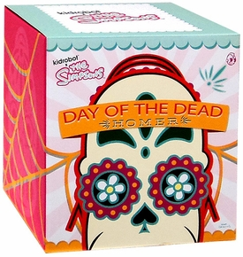 Simpsons Kidrobot X NYCC 2013 New York Comic-Con Exclusive Action Figure Homer Day of the Dead Mariachi [Black]