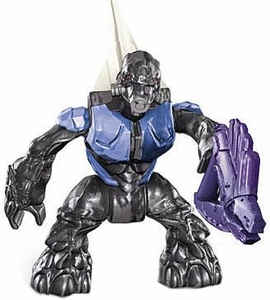 Halo Wars Mega Bloks LOOSE Mini Figure Cobalt Grunt with Needle Gun