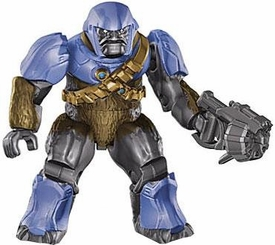 Halo Wars Mega Bloks LOOSE Mini Figure Covenant Cobalt Brute with Brute Mauler