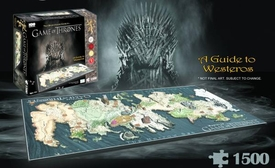 Game of Thrones 4D Cityscape Puzzle Westeros New!