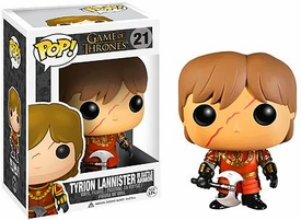Funko POP! Game Of Thrones Vinyl Figure Tyrion Lannister [Battle Armor] New!