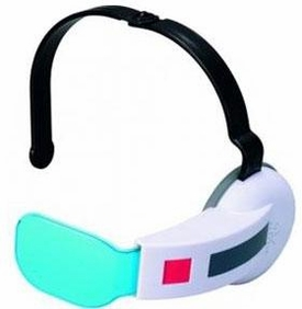 Dragonball Z Bandai Cosplay Accessory Blue Scouter with Sound