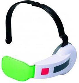 Dragonball Z Bandai Cosplay Accessory Green Scouter with Sound