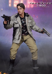 Terminator Hot Toys Movie Masterpiece 1/6 Scale Collectible Figure T-800 [Arnold Schwarzenegger]