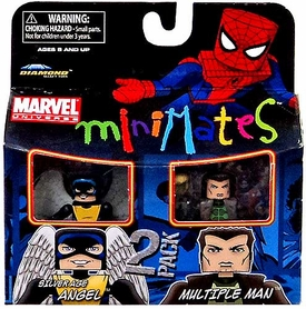 Marvel MiniMates Series 31 Mini Figure 2-Pack Silver Age Angle & Multiple Man