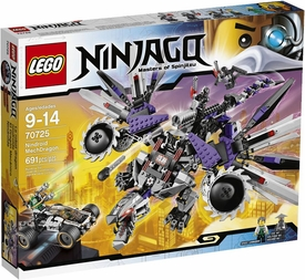 LEGO Ninjago Rebooted Set #70725 Nindroid MechDragon