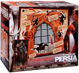 McFarlane Toys Prince of Persia Movie Playset Alamut Gate with Dastan BLOWOUT SALE!