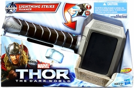 Thor The Dark World Electronic Roleplay Toy Thor Lightning Strike Hammer