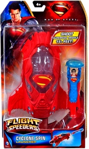 Man of Steel Movie Flight Speeders Launcher Cyclone Spin