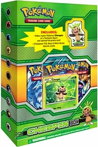 Pokemon Card Game Figure Box Chespin