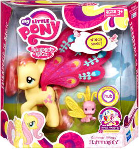 My Little Pony Deluxe Figure Glimmer Wings Fluttershy