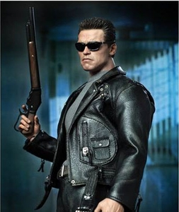 Terminator 2: Judgement Day Hot Toys Movie Masterpiece 1/6 Scale Collectible Figure T-800 [Arnold Schwarzenegger]