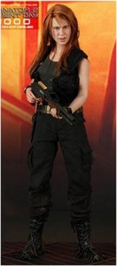 Terminator 2: Judgement Day Hot Toys Movie Masterpiece 1/6 Scale Collectible Figure T-1000 as Sarah Connor