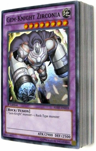 YuGiOh Custom Hidden Arsenal Single Card 50-Card ALL FOIL Lot!