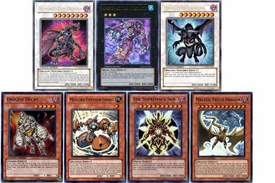 YuGiOh Custom Single Card Set of 7 Shonen Jump Promo Cards BLOWOUT SALE!