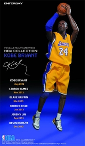 Enterbay Real Masterpiece 1/6 Collectible Figure Kobe Bryant Pre-Order ships March