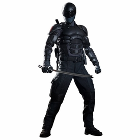 GI Joe Retaliation Hot Toys Movie Masterpiece 12 Inch Figure Snake Eyes