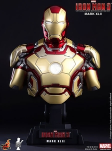 Iron Man 3 Hot Toys Movie 1/4 Scale Bust Iron Man Mark XLII