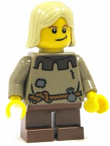 LEGO Castle LOOSE Complete Human Mini Figure Peasant Child