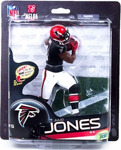 McFarlane Toys NFL Sports Picks Series 33 Action Figure Julio Jones (Atlanta Falcons) Black Jersey Collector Level Only 1,000 Made!