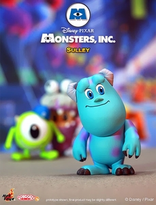 Monsters, Inc. Hot Toys 3 Inch Mini Cosbaby Figure Sulley Pre-Order ships March