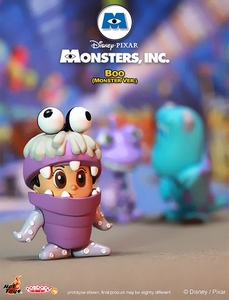 Monsters, Inc. Hot Toys 3 Inch Mini Cosbaby Figure Boo  [Monster Ver.] Pre-Order ships March