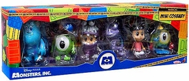 Monsters, Inc. Hot Toys 3 Inch Mini Cosbaby Set of 6 Figures [Mike, Sulley, Boo, Randall, Boo Monster Ver. & Mike Diver Ver.]