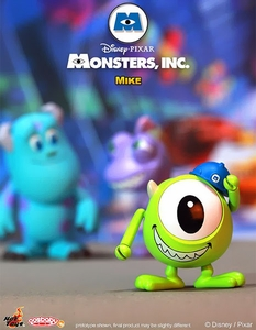 Monsters, Inc. Hot Toys 3 Inch Mini Cosbaby Figure Mike Pre-Order ships March
