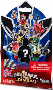 Power Rangers Super Samurai Mega Bloks Series 2 Mystery Pack [1 RANDOM Mini Figure]
