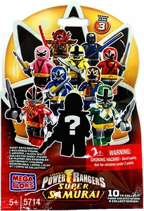 Power Rangers Super Samurai Mega Bloks Series 3 Mystery Pack [1 RANDOM Mini Figure]