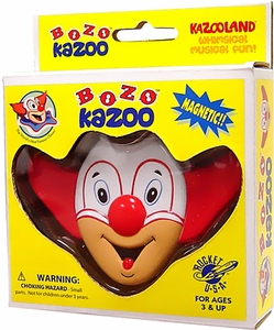 Bozo the Clown Rocket USA Bozo Kazoo