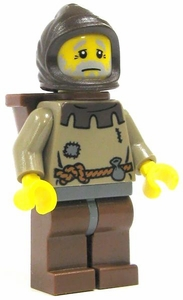LEGO Castle LOOSE Complete Human Mini Figure Old Peasant Man