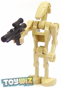 LEGO Star Wars LOOSE Mini Figure Battle Droid with Blaster Weapon [Version 2] BLOWOUT SALE!