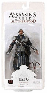 NECA Assassin's Creed Brotherhood Exclusive Action Figure Ezio ONYX [Unhooded]