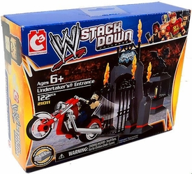 C3 WWE Wrestling Stack Down Set #21011 Undertaker's Entrance