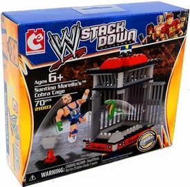 C3 WWE Wrestling StackDown Set #21003 Santino Marella's Cobra Cage BLOWOUT SALE!