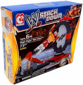 C3 WWE Wrestling Stack Down Set #21001 High Flyin' Sin Cara