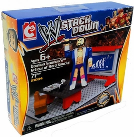 C3 WWE Wrestling Stack Down Set #21004 Damien Sandow's School of Hard Knocks