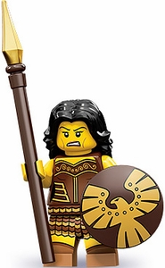 LEGO Minifigure Collection Series 10 LOOSE Mini Figure Warrior Woman