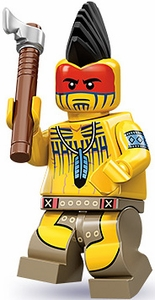 LEGO Minifigure Collection Series 10 LOOSE Mini Figure Tomahawk Warrior