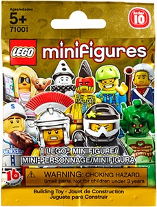 LEGO Minifigure Series 10 Mystery Pack [1 Random Mini Figure!]