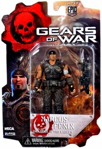 NECA Gears of War 3 3/4 Series 2 Action Figure Marcus Fenix