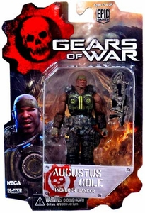 NECA Gears of War 3 3/4 Series 2 Action Figure Augustus Cole