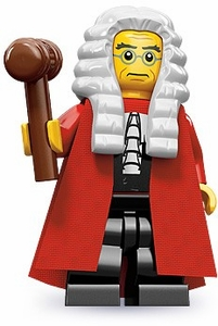 LEGO Minifigure Collection Series 9 LOOSE Mini Figure Judge