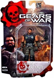 NECA Gears of War 3 3/4 Series 2 Action Figure Dominic Santiago